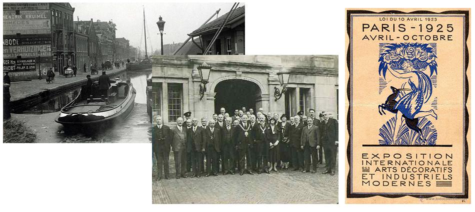 3ème Congrès de l'Union Internationale des Villes à Paris, 1925