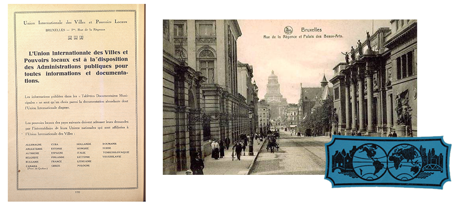Union internationale des autorités locales, 1928
