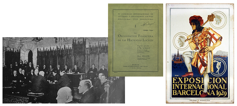 4th IULA Congress in Seville and Barcelona, 1929