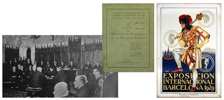 4ème Congrès de l'IULA à Séville et Barcelone, 1929