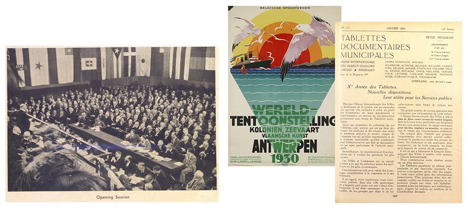 Le 5ème Congrès de l'IULA se déroule à Londres, Royaume-Uni, 1932