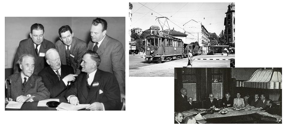 Création du Conseil de l'Europe Municipale, 1950