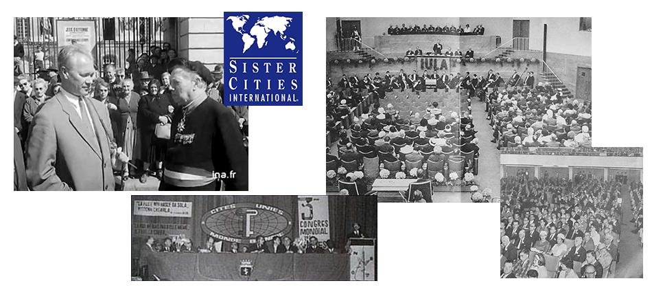 Congrès du Jubilé de l'IULA tenu dans l'ancienne ville hôte de l'Union, Bruxelles, 1963