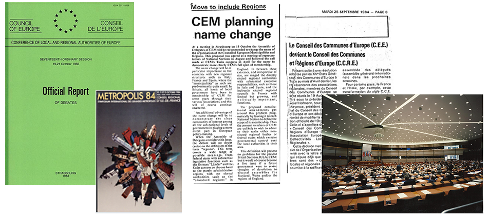 The Council of European Municipalities (CEM) becomes CEMR – the Council of European Municipalities and Regions.