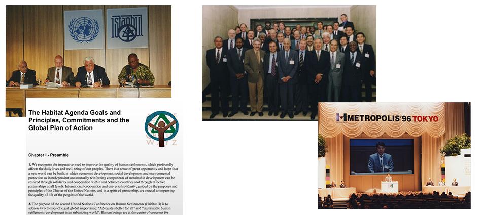 La Conférence d'ONU Habitat II,