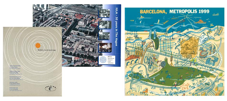 L'IULA et Metropolis organisent des congrès consécutifs à Barcelone en 1999