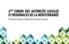 4ème Forum des autorités locales et régionales de la méditerranée
