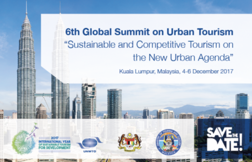 6th Global Summit on Urban Tourism