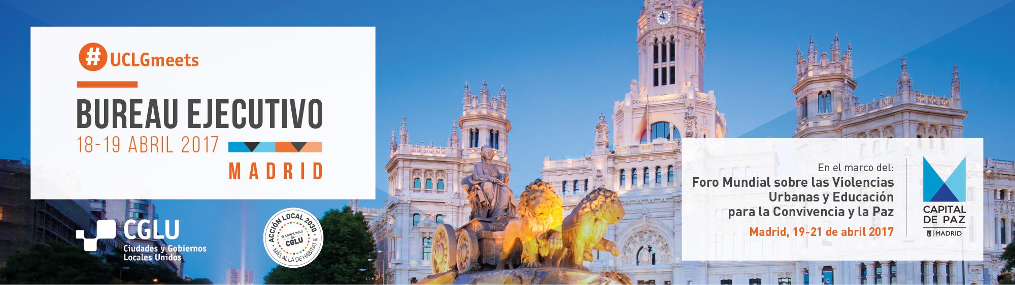 Madrid 2017 - Bureau Ejecutivo