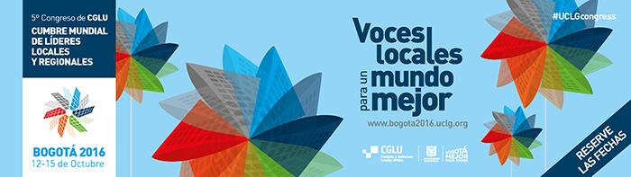 Cumbre Mundial de CGLU Bogotá 2016