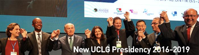 New UCLG presidency 2016-2019