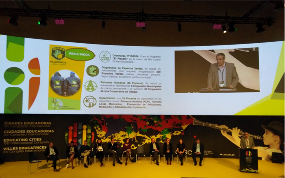 UCLG participates at the XV International Congress of Educating Cities