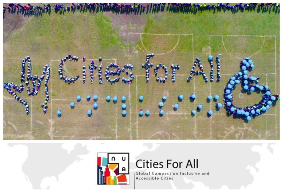 c151e589d347c Mayors from Around the World Celebrated the International Day of Persons  with Disabilities by Launching the Cities for All Campaign and the Global  Compact ...