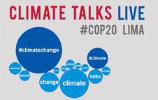 Follow the global Twitter conversation about #COP20 and #climatechange