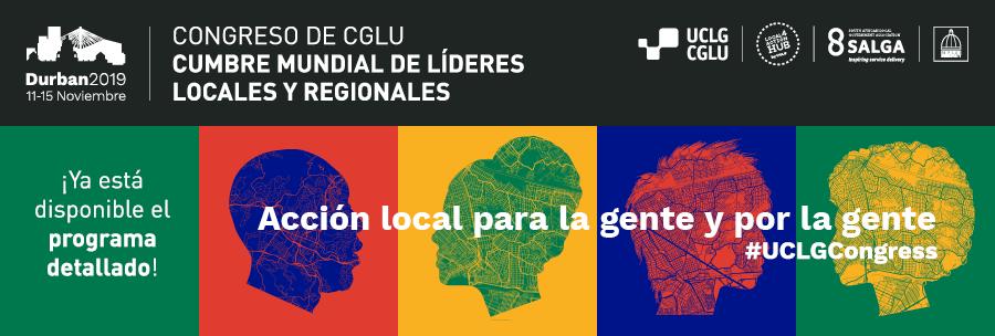 Congreso de CGLU Cumbre Mundial de Líderes Locales y Regionales