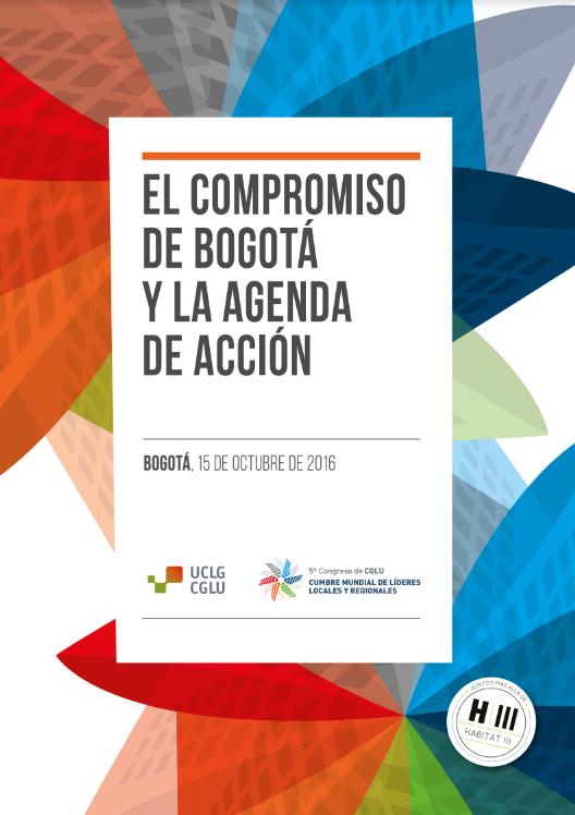 El compromiso de Bogotá y la agenda de acción