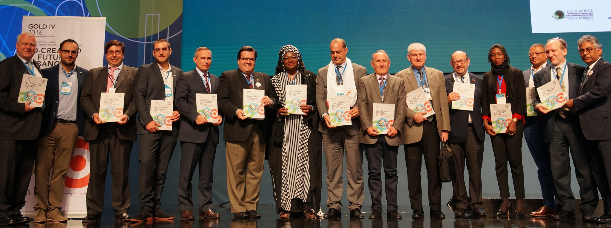 Gold Report launch at UCLGCongress