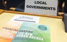 Dialogue politique avec les gouvernements locaux à la PrepCom 2 d'Habitat III