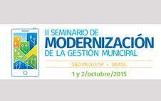 II Seminario de Modernización de la Gestión Municipal