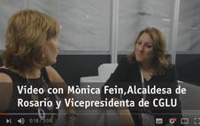 Entrevista con la Alcaldesa de Rosario, Monica Fein