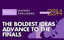 21 European cities proposed in the Bloomberg Mayors Challenge