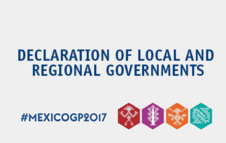 Declaration of Local and Regional Governments at the 2017 Global Platform for Disaster Risk Reduction