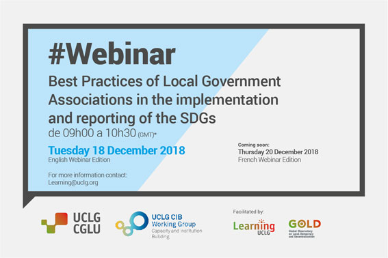 Free Webinar December 16th Developing >> Webinar Best Practices Of Local Government Associations In