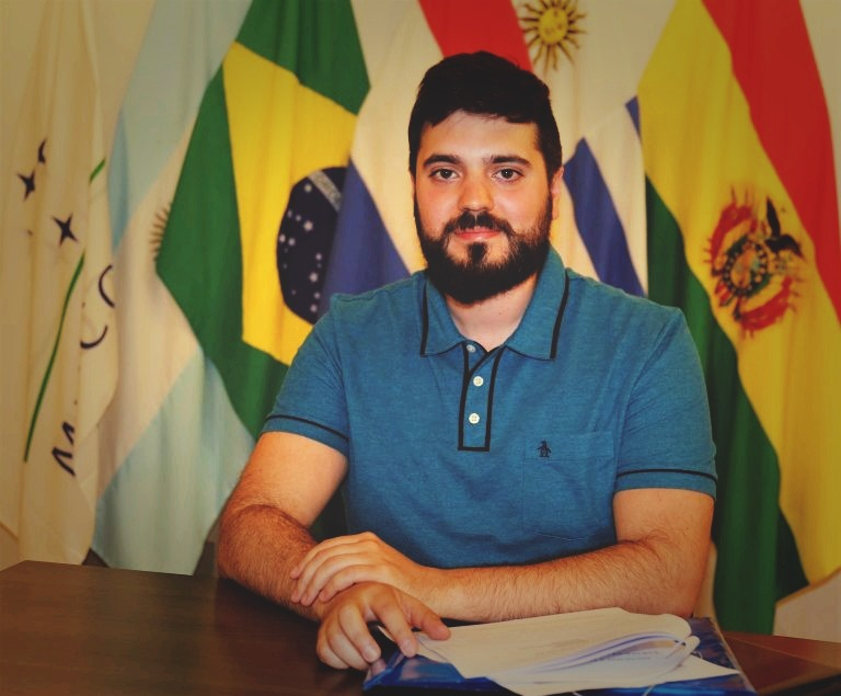 Nahuel Alvaredo, co-author of this article.