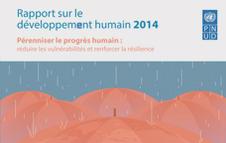 rapport sur le développement humain 2014 du PNUD