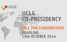 Call for Candidatures: Co-Presidency of United Cities and Local Governments