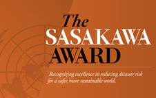 Take part in the Sasakawa Award for Disaster Risk Reduction