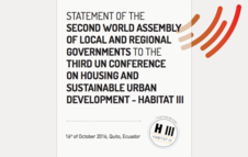 Statement of the Second World Assembly to Habitat III