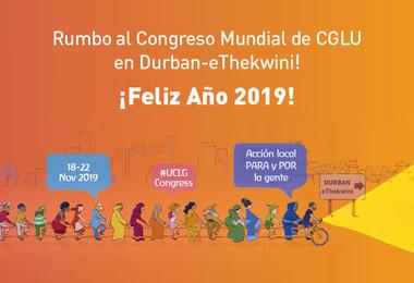 Mensaje de año nuevo de la Secretaria General de CGLU