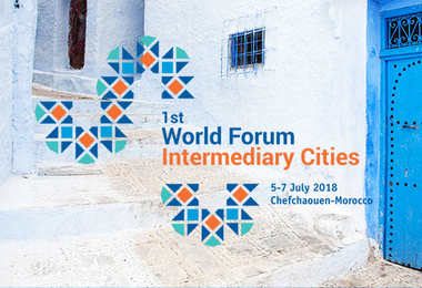 The programme of the 1st World Forum of Intermediary Cities in Chefchaouen at a glance