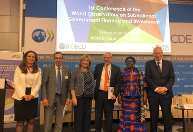 Launch of the World Observatory on Subnational Government Finance and Investment