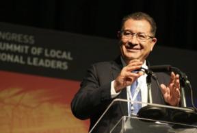 Mohamed Boudra elected President of UCLG