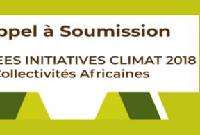 CGLU Afrique lance l'appel à candidatures aux trophées Initiatives Climat pour Africités 2018