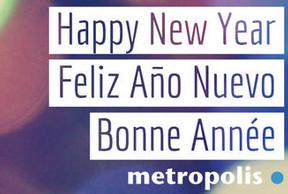 Season Greetings from the President of METROPOLIS