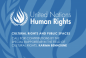 Call for contributions: Cultural Rights and Public Space