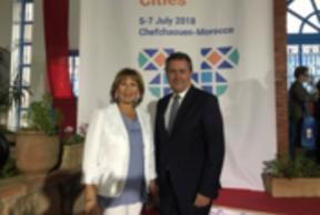 La Comisión de Desarrollo Económico y Social de CGLU contará con una Antena en Andalucía, con sede en el FAMSI