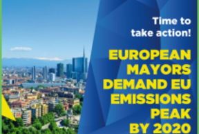 210 European mayors demand to reach net-zero EU emissions by 2050