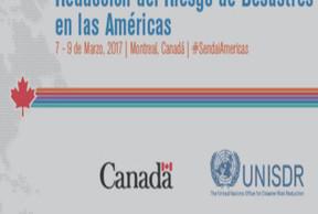 Plataforma Regional para la Reducción de Riesgos de Desastres en las Américas
