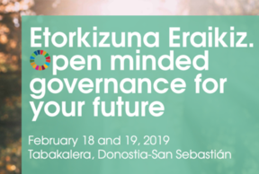 Etorkizuna Eraikiz. Open minded governance for your future