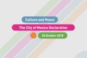 Déclaration de la Ville de Mexico, Culture et Paix