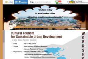 Cultural tourism for sustainable urban development