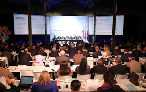 The UCLG World Council in Madrid places local  governments at the heart of building peaceful and resilient societies .