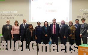 The UCLG Presidency meets in Barcelona for the first time after the UCLG Congress