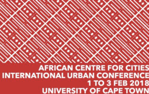 African Center for Cities International Urban Forum