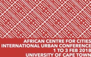 African Center for Cities International Urban Forum