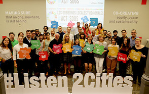"UCLG supports the #Act4SDGs campaign and encourages its members to ""act for SDGs""!"
